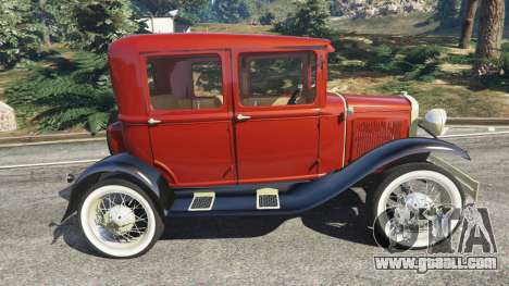 GTA 5 Ford Model A [mafia style] left side view