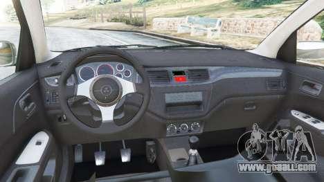 GTA 5 Mitsubishi Lancer Evolution VIII MR rear right side view