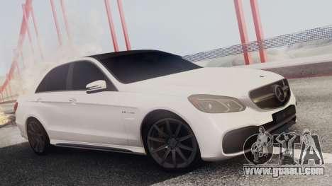 Mercedes-Benz E63 AMG PML Edition for GTA San Andreas interior