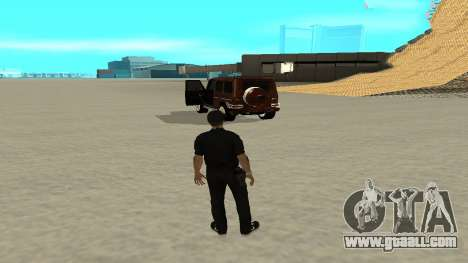 A quick exit from transport for GTA San Andreas