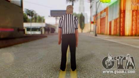 WWE Arbitro for GTA San Andreas third screenshot