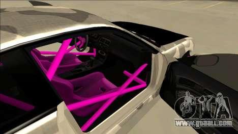 Nissan Silvia S14 Drift for GTA San Andreas wheels