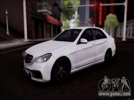 Mercedes-Benz E63 for GTA San Andreas