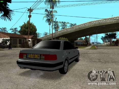 Audi 100 C4 1992 for GTA San Andreas back left view