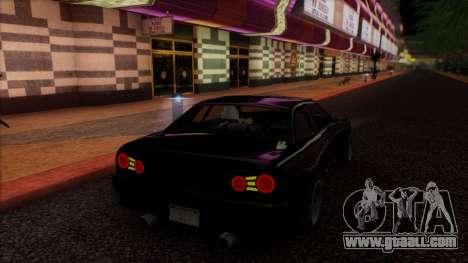 Elegy HellCat for GTA San Andreas inner view
