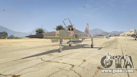 GTA 5 Northrop F-5E Tiger II FAB