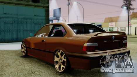 BMW M3 E36 SüvariGaragee for GTA San Andreas left view