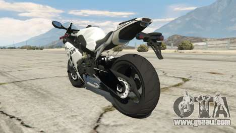 GTA 5 Honda CBR1000RR [Repsol White] rear left side view