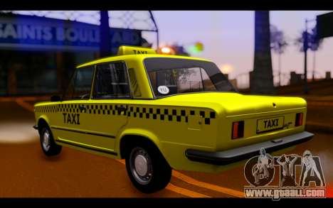 Zastava 125PZ Taxi for GTA San Andreas left view