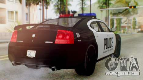 New Police LS for GTA San Andreas left view