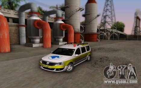 Dacia Logan Emdad Khodro for GTA San Andreas