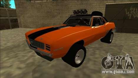 Chevrolet Camaro SS Rusty Rebel for GTA San Andreas