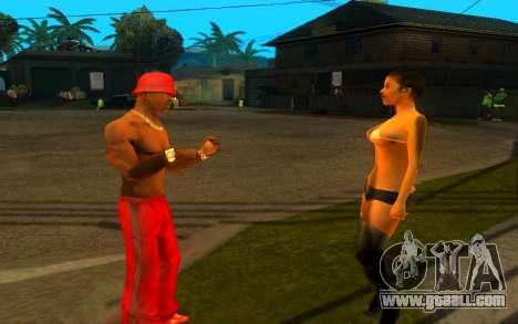 The revival of the street ganton for GTA San Andreas forth screenshot