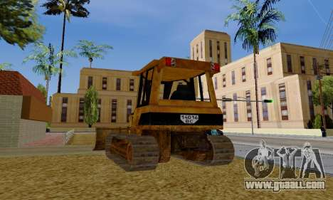 New Dozer for GTA San Andreas right view