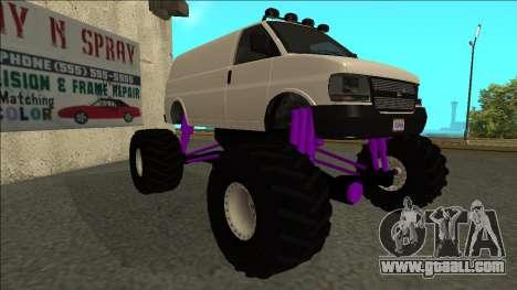 GTA 5 Vapid Speedo Monster Truck for GTA San Andreas left view
