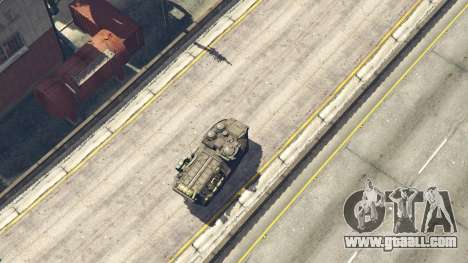 GTA 5 AAV-7A1 AMTRAC rear right side view