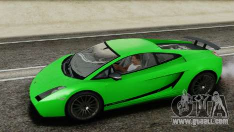 Lamborghini Gallardo Superleggera for GTA San Andreas side view