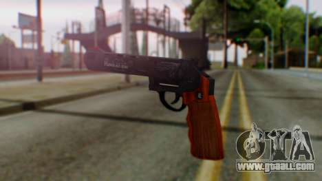 GTA 5 Bodyguard Revolver for GTA San Andreas second screenshot
