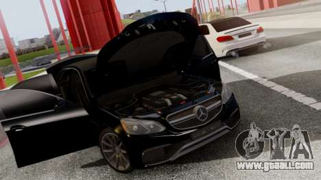 Mercedes-Benz E63 AMG PML Edition for GTA San Andreas side view