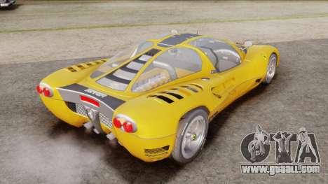 Ferrari P7 Normal for GTA San Andreas left view
