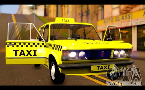 Zastava 125PZ Taxi for GTA San Andreas side view