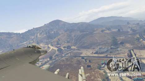 GTA 5 F-16C Fighting Falcon seventh screenshot