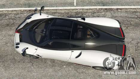 Pagani Huayra 2013 v1.1 [grey rims] for GTA 5