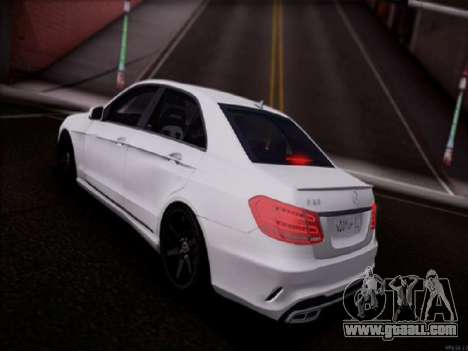 Mercedes-Benz E63 for GTA San Andreas left view
