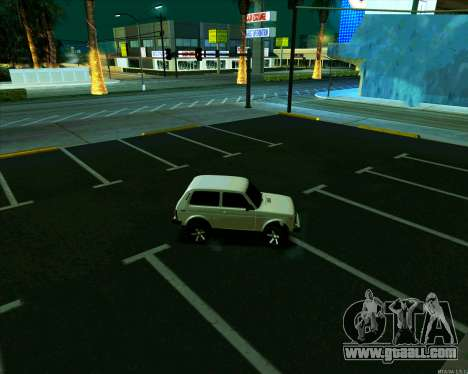 Niva 2121-Dorjar [ARM] for GTA San Andreas right view