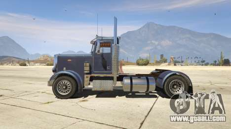 GTA 5 Peterbilt 289 left side view