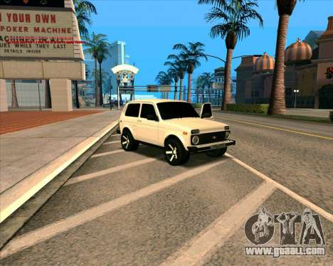 Niva 2121-Dorjar [ARM] for GTA San Andreas