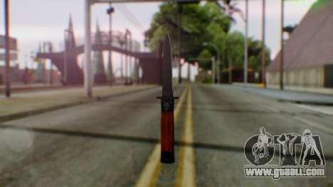 GTA 5 Bodyguard Switchblade for GTA San Andreas second screenshot