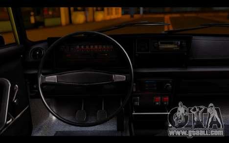 Zastava 125PZ Taxi for GTA San Andreas back left view