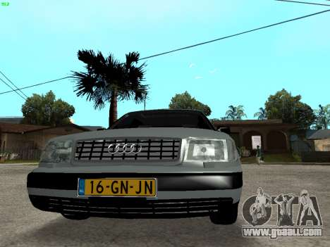 Audi 100 C4 1992 for GTA San Andreas back view