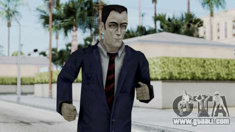 GMAN v2 from Half Life for GTA San Andreas