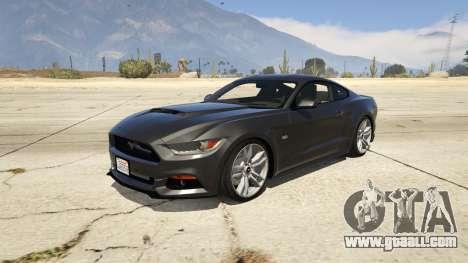 Ford Mustang GT 2015 v1.1 for GTA 5