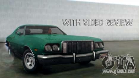 Ford Gran Torino 1974 IVF for GTA San Andreas