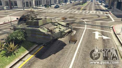 GTA 5 FV510 Warrior right side view