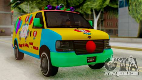 GTA 5 Vapid Clown Van for GTA San Andreas