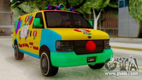 GTA 5 Vapid Clown Van for GTA San Andreas