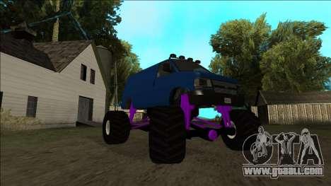 GTA 5 Vapid Speedo Monster Truck for GTA San Andreas interior