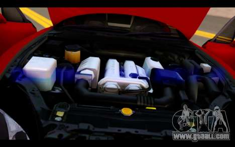 Mazda MX-5 for GTA San Andreas upper view