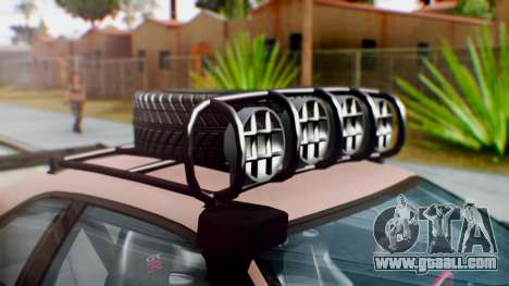 Nissan Skyline GT-R R34 RAID Spec for GTA San Andreas back view