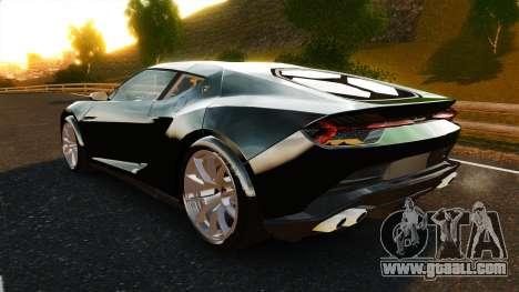 Lamborghini Asterion LP900 for GTA 4 back left view