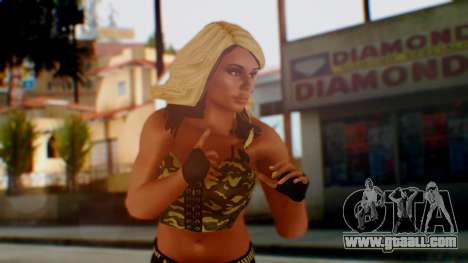 WWE Kaitlyn for GTA San Andreas