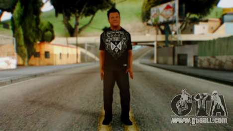 WWE Jerry Lawler for GTA San Andreas second screenshot