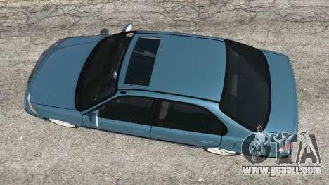 GTA 5 Honda Civic 1997 back view