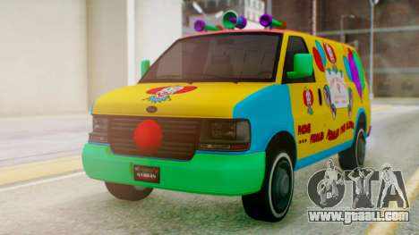 GTA 5 Vapid Clown Van for GTA San Andreas right view