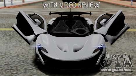 McLaren P1 GTR-VS 2013 for GTA San Andreas