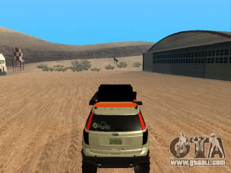 Ford Explorer 2013 Off Road for GTA San Andreas right view
